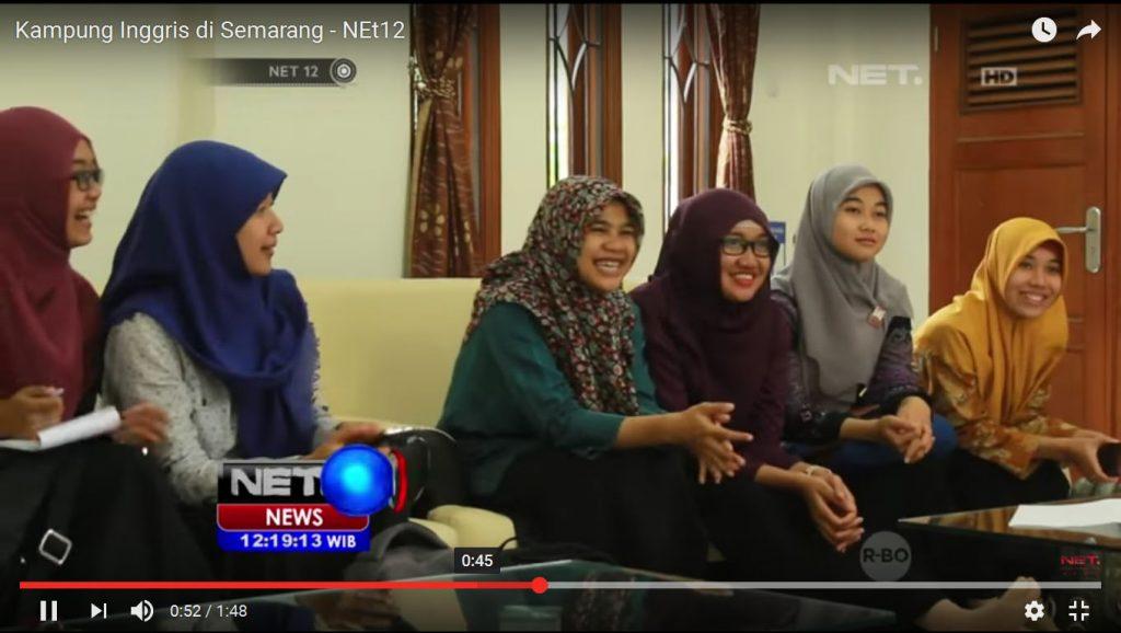 Kampung Inggris Semarang on Net TV