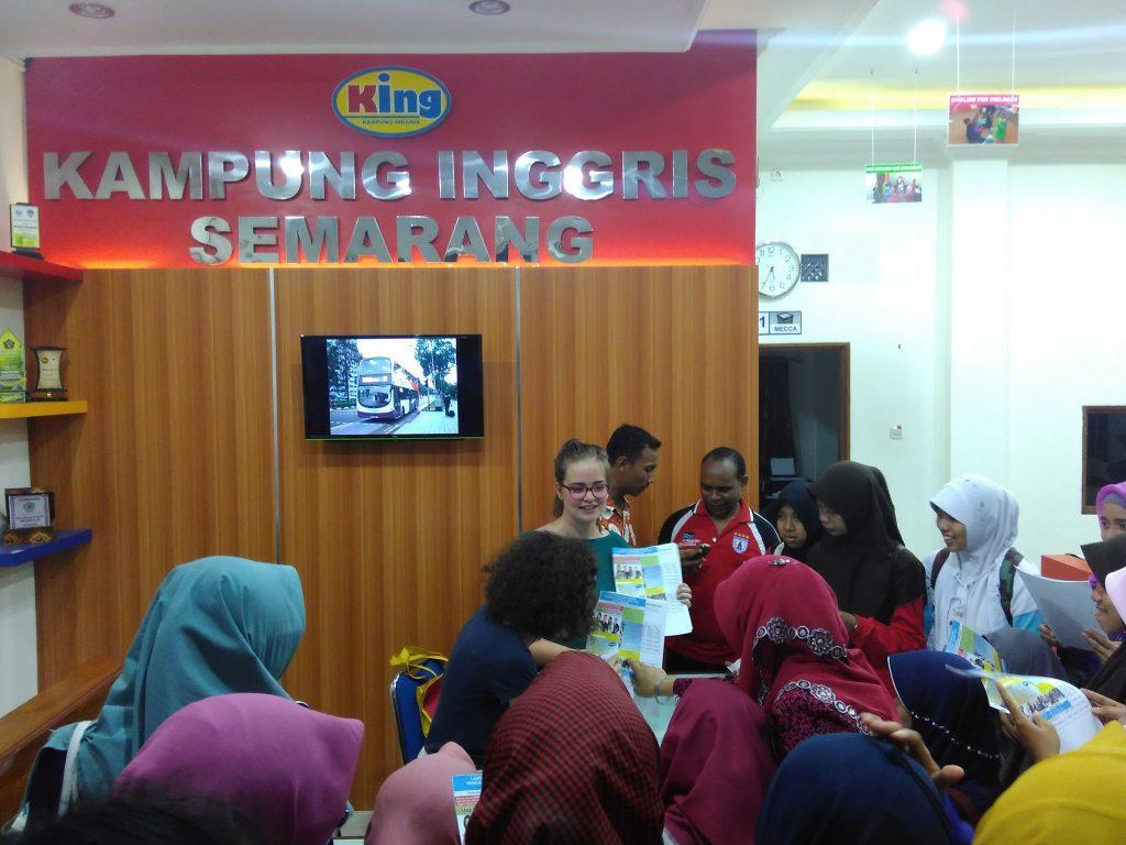 Everybody wants to study in Kampung Inggris Semarang.
